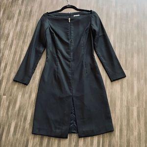 NWOT Versace Couture Zip Collar Jersey Dress